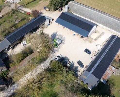 centrale photovoltaïque agricole Groupe Roy Énergie