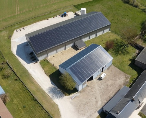 centrale photovoltaïque Groupe Roy Énergie