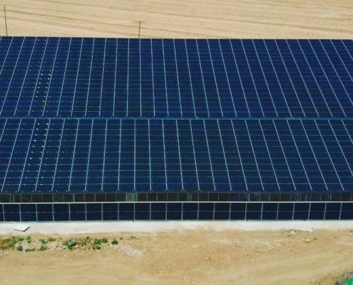 hangar agricole monopente photovoltaique