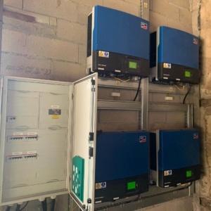 maintenance panneaux photovoltaïques