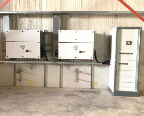 maintenance panneaux photovoltaïques Groupe Roy Énergie