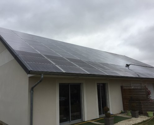 nettoyage installation photovoltaïque Groupe Roy Énergie