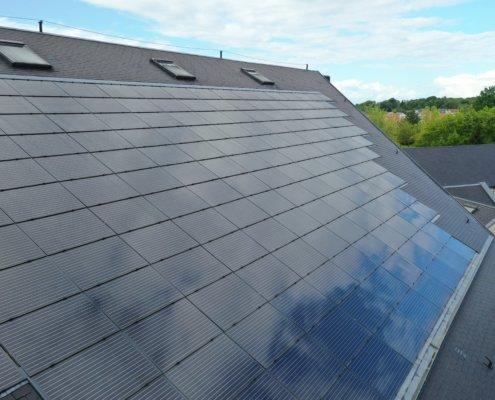 Salle des fêtes de Saint Jean le Blanc 45650 équipée de panneaux photovoltaïques par le Groupe Roy Énergie 5
