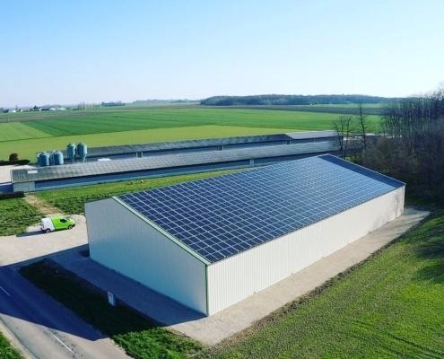 Projet photovoltaïque Groupe Roy Énergie