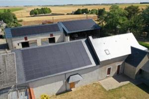 panneaux photovoltaïques à Outarville dans le 45