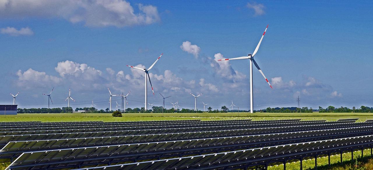 parc éolien et photovoltaïque, production d'énergies renouvelables