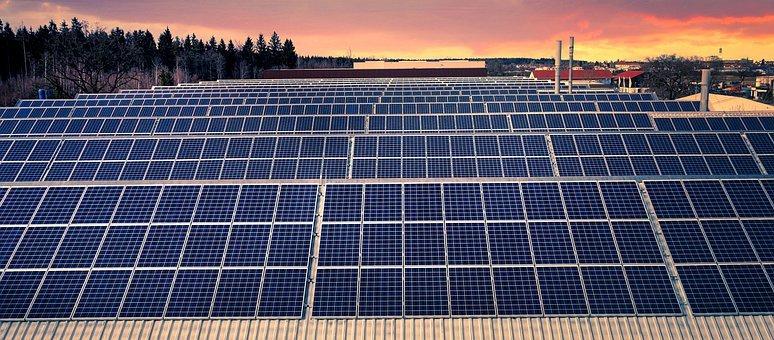 parc photovoltaïque, énergie verte