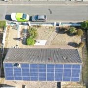 GROUPE ROY ÉNERGIE en intervention chez un particulier pour des panneaux photovoltaïques