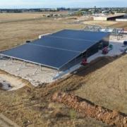 toit en location recouvert de panneaux photovoltaïques