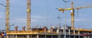 chantier de construction avec le RE 2020