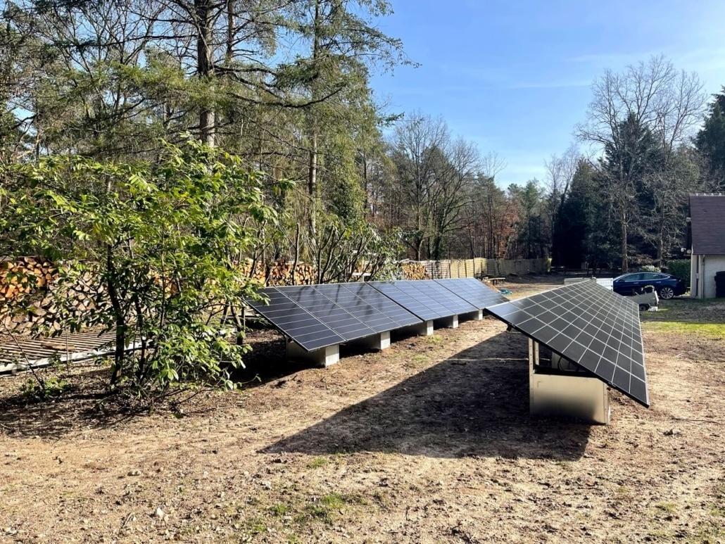 centrale photovoltaïque au sol loiret groupe roy énergie
