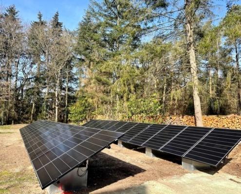 centrale photovoltaïque au sol dans le loiret
