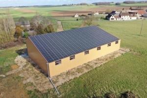 Installation photovoltaïque agricole GRE 28250 12