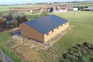 Installation photovoltaïque agricole GRE 28250 2