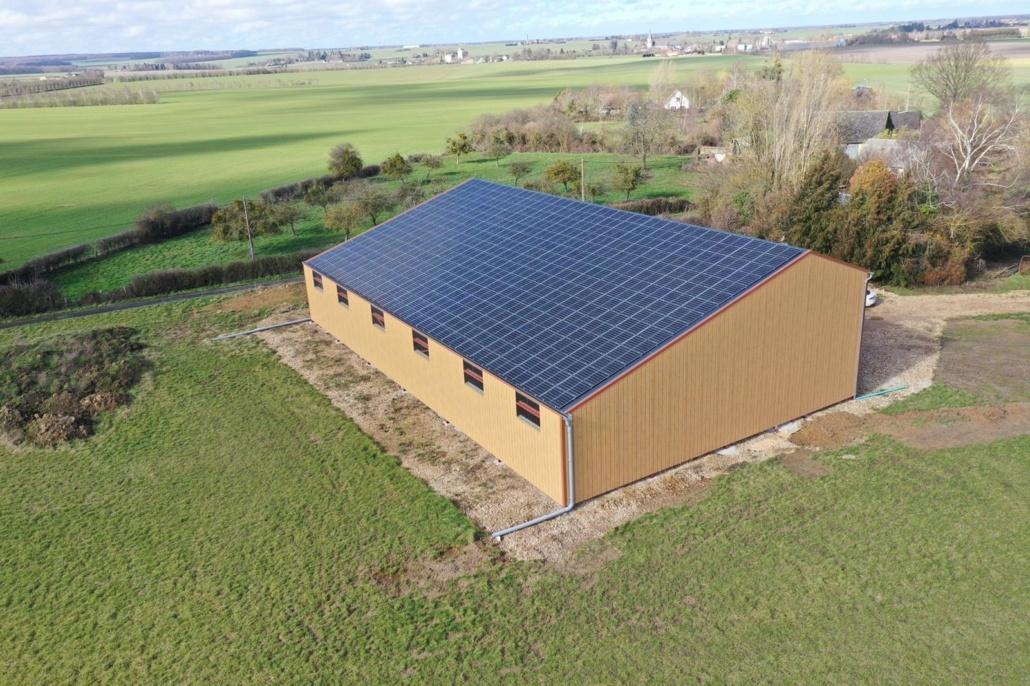 Installation photovoltaïque agricole GRE 28250 3
