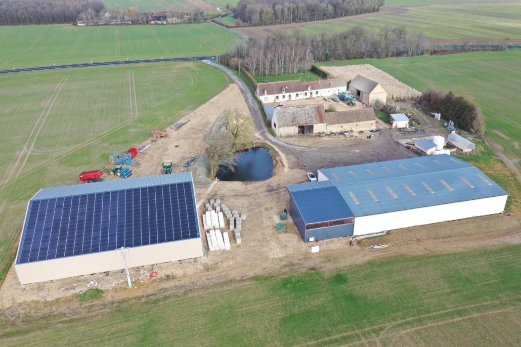 Installation photovoltaïque agricole GRE 28250 1