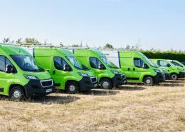 groupe roy énergie- flotte vehicules