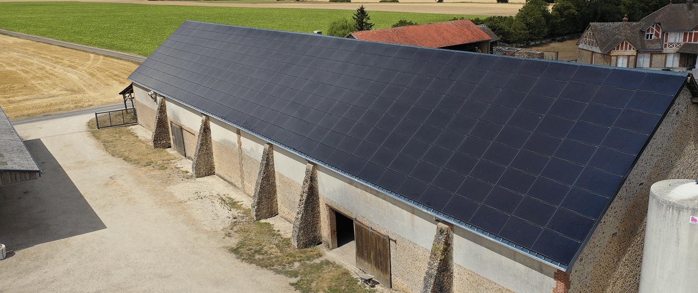 toiture bâtiment agricole rénovation photovoltaïque