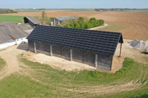 80 kWc bâtiment photovoltaïque 45