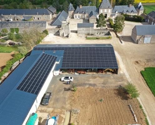 100 kWc bâtiment photovoltaïque 28