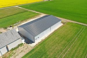 100 kWc bâtiment photovoltaïque 45