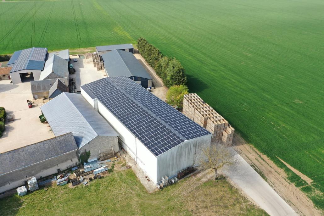 265 kWc bâtiment photovoltaïque 45