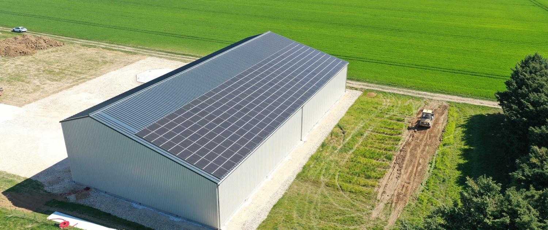 hangar photovoltaique gratuit
