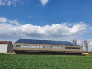 125 kWc bâtiment photovoltaïque 45