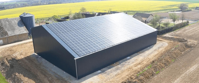 Autofinancement bâtiment de stockage photovoltaïque