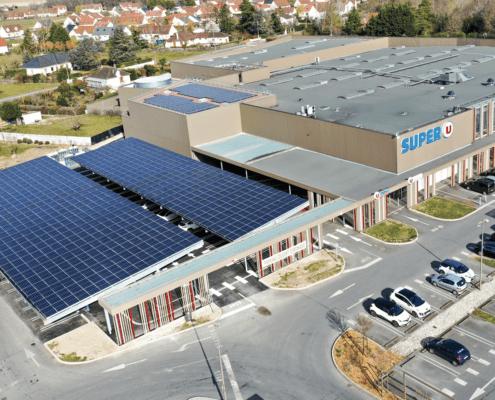 Panneaux photovoltaïques industriels, Groupe Roy Énergie