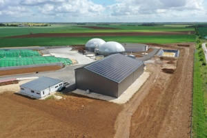 130 kWc bâtiment photovoltaïque methanisation 28