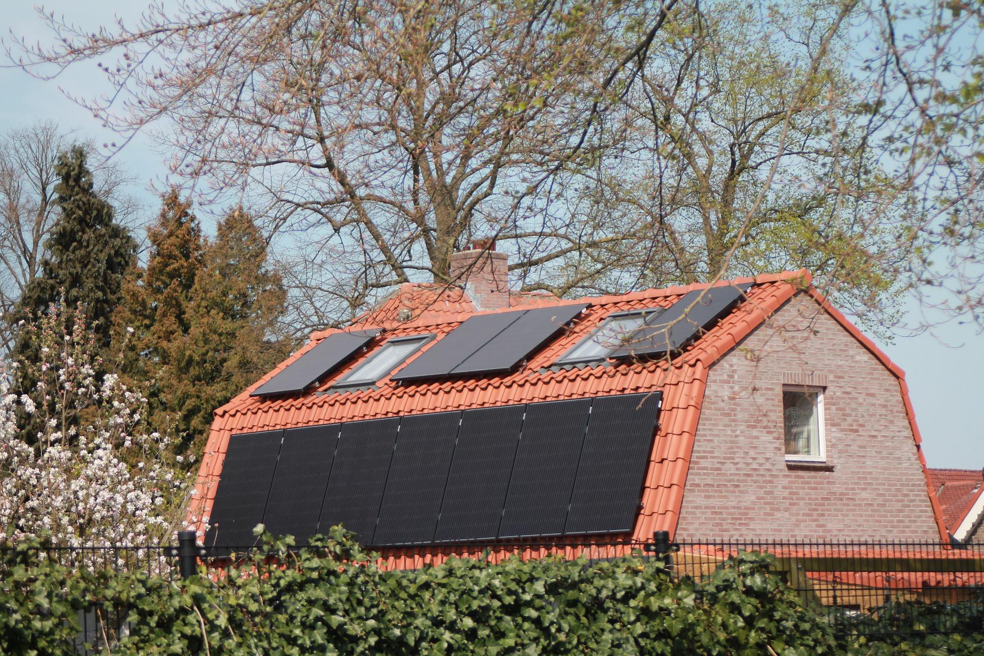 Panneau photovoltaïque monocristallin noir